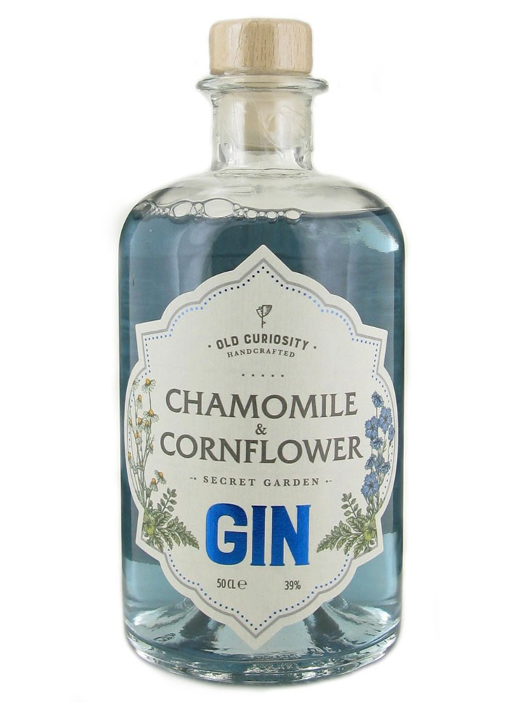 The Old Curiosity - Secret Garden Chamomile and Cornflower Gin 50cl