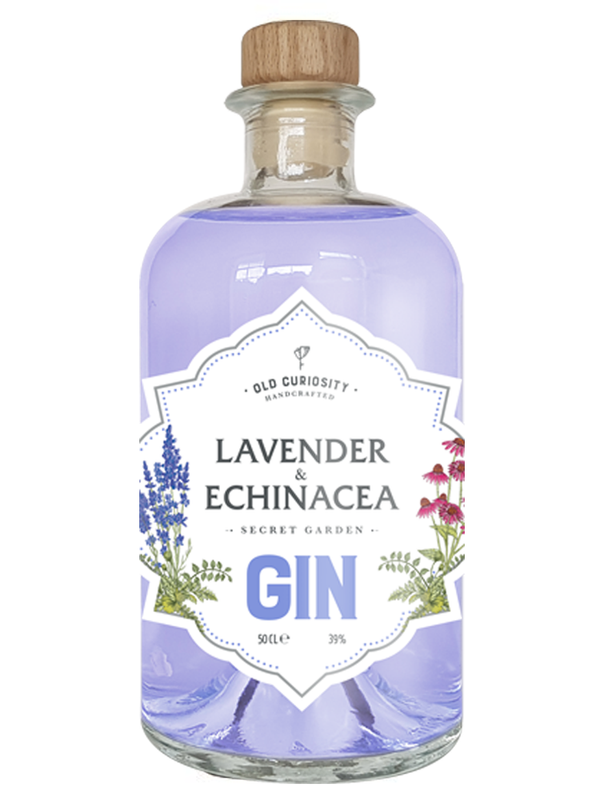 The Old Curiosity - Secret Garden Lavander and Echinacea 50cl