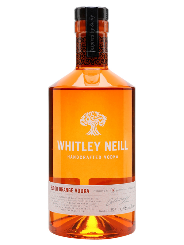 Whitley Neill - Blood Orange Vodka 70cl