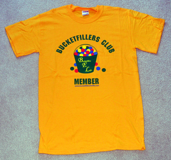 Bucketfillers Club Member T-shirt