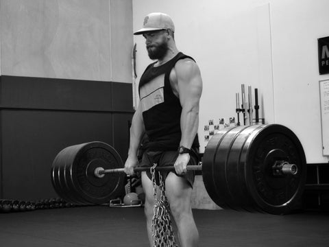 Deadlift with Chains