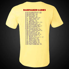 LSOE 2016 YELLOW TOUR TEE