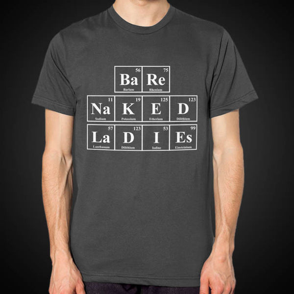 Grey Periodic Table Tee