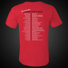 SMART PEOPLE 17 RED TOUR T-SHIRT