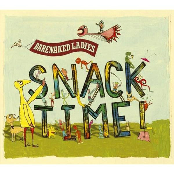 SNACKTIME BOOK/CD BUNDLE