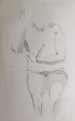 Female Nude study (5) - signed by the Artist Neil Morrison