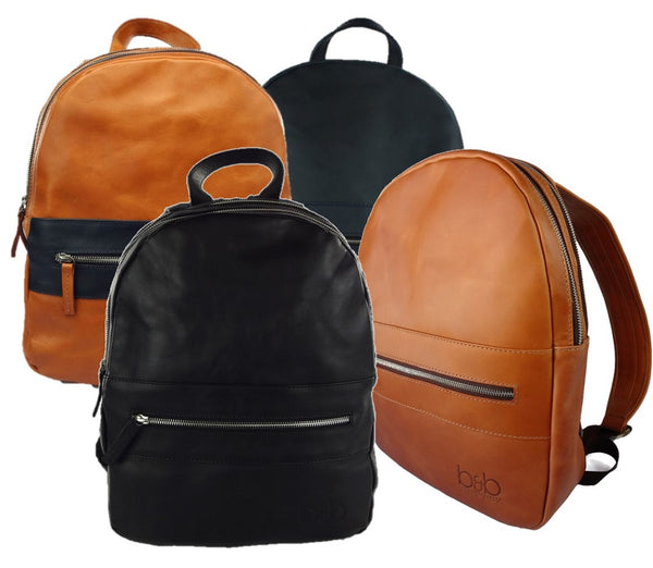 Leather Backpack Chicago
