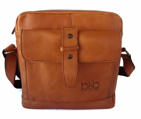 Leather Sling Tablet Bag Houston