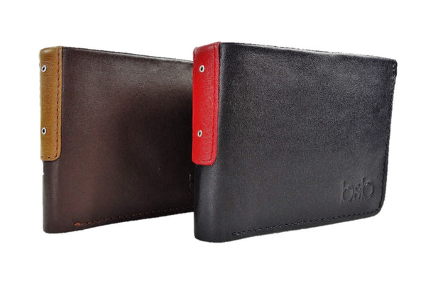 "Leather Wallet ""R. KING"""