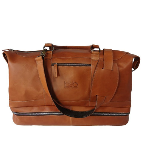 Leather Duffel Bag - Washington