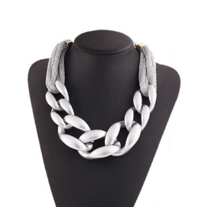 Fall Fashion:  Chains and Silver