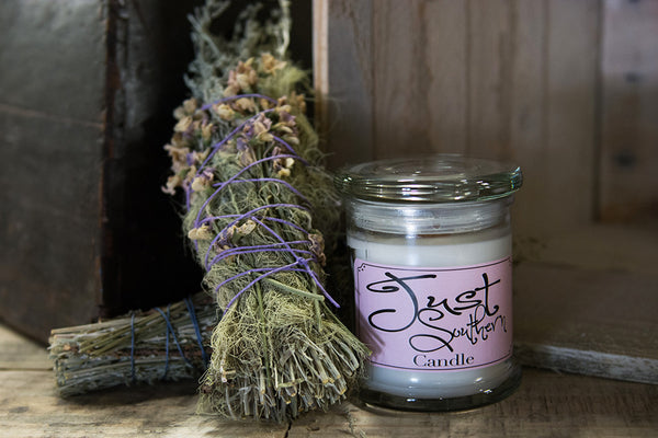 Candle with southern scent, perfect gift or for your home