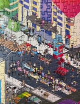 Do Things Tell People 2000 Piece Puzzle