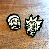 """Bad Trip"" pin set"