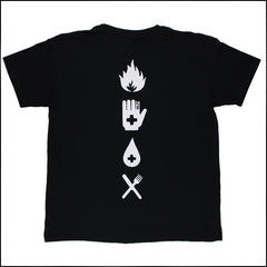 LEGACY OF WAR BLACK T-SHIRT