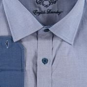 Light Blue Oxford Cotton Dress Shirt