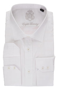English Laundry White Men's Dress Shirt