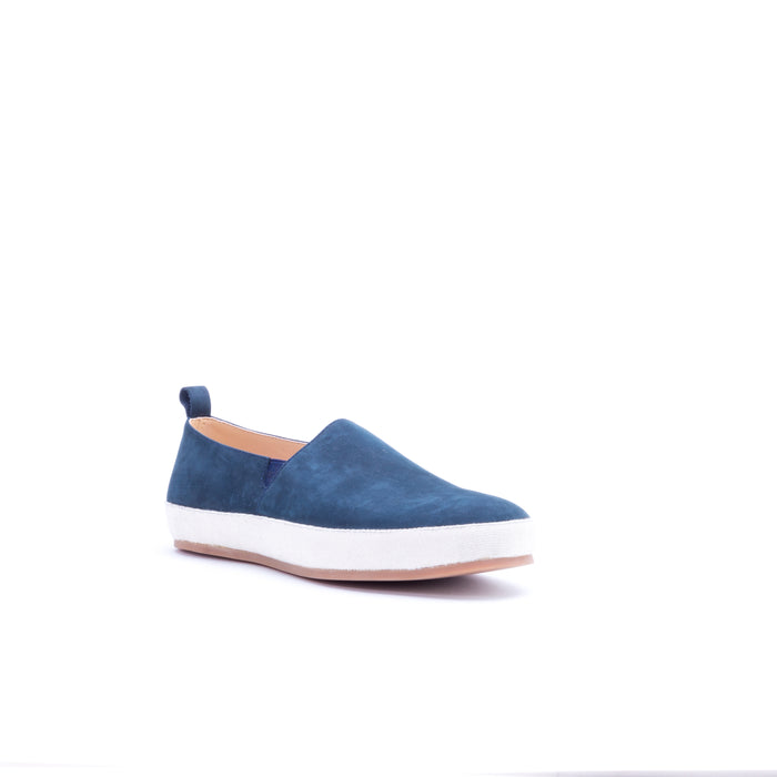 English Laundry Wynne Suede Loafer, Navy