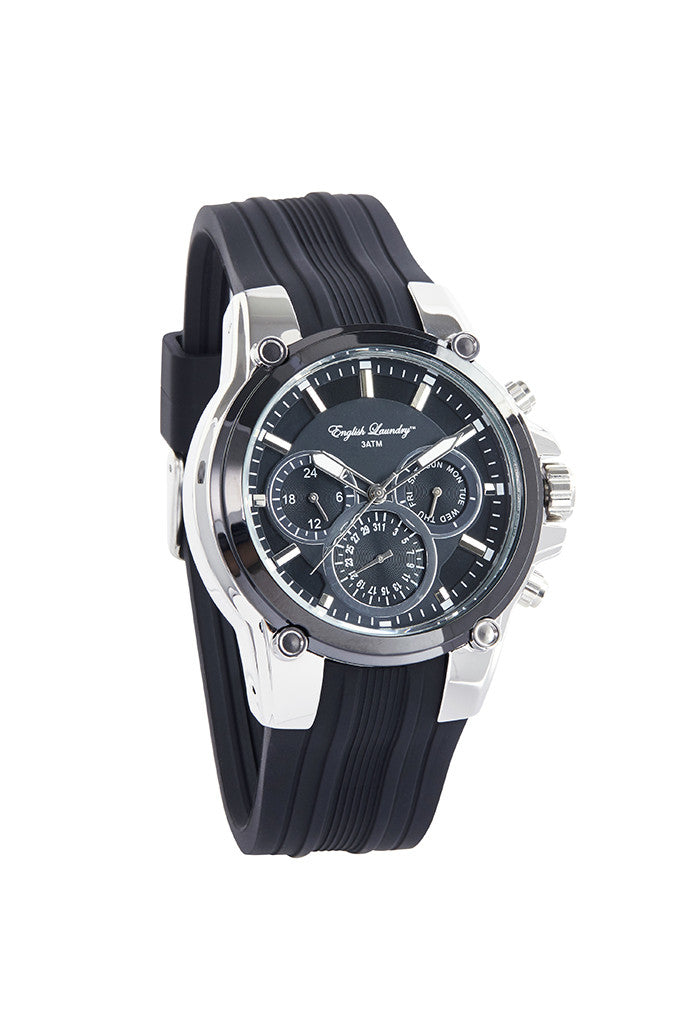 English Laundry Black Men's Watch