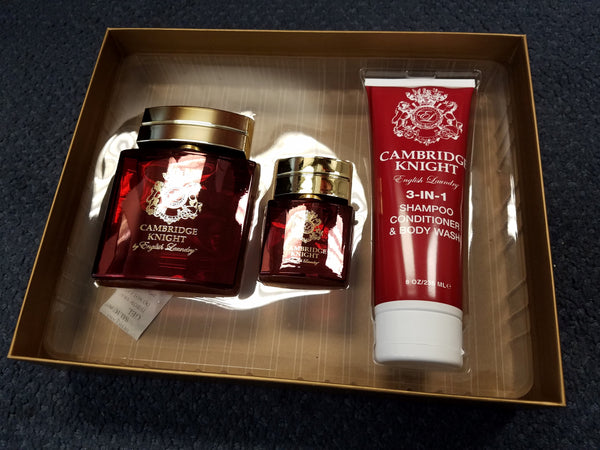 Cambridge Knight 3 pc Gift Set