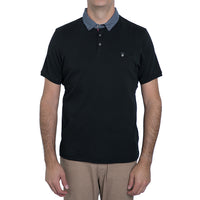English Laundry Black Polo Shirt