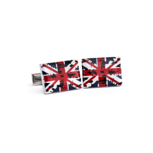 English Laundry Union Jack cufflink