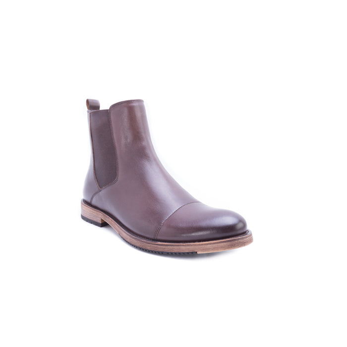English Laundry Albans Cap Toe Chelsea Boot, Brown