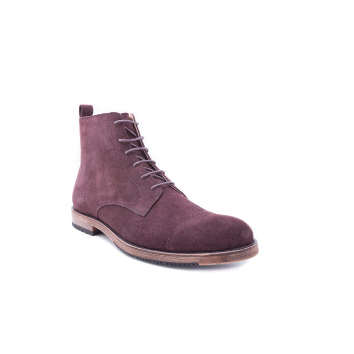 English Laundry Swansea Cap Toe Suede Boot, Brown