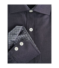 BLACK BUTTON DOWN DRESS SHIRT