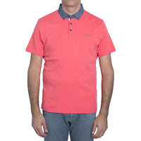English Laundry Coral Polo Shirt