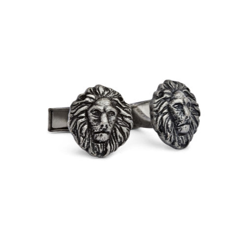 English Laundry Lion head cufflinks