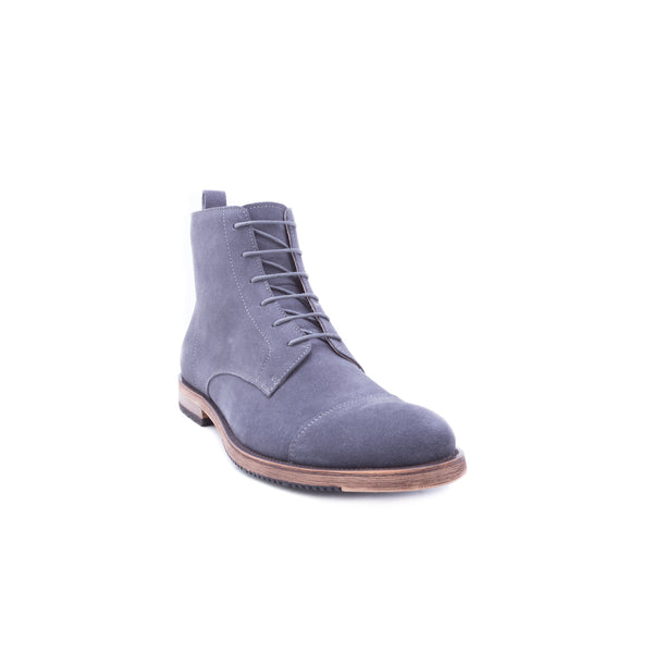 English Laundry Swansea Cap Toe Suede Boot, Grey