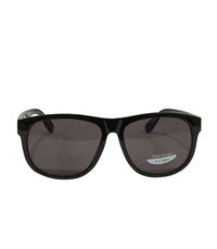 Black Frame/Smoke Lens Sunglasses