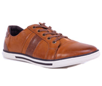 English Laundry Cambridge Leather Sneaker, Cognac
