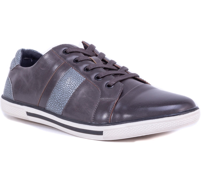 English Laundry Cambridge Leather Sneaker, Grey