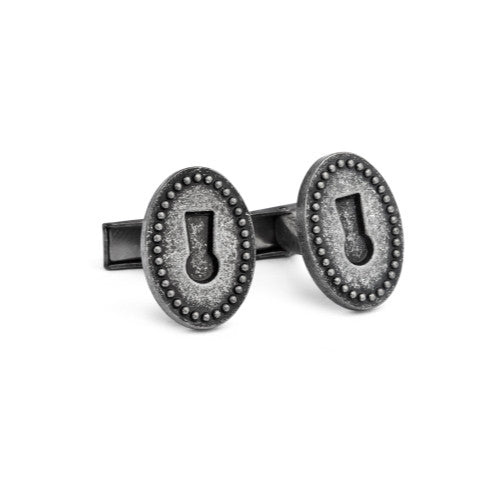 English Laundry Sceleton Lock cufflinks