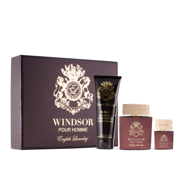 Windsor Pour Homme 3pc Gift Set