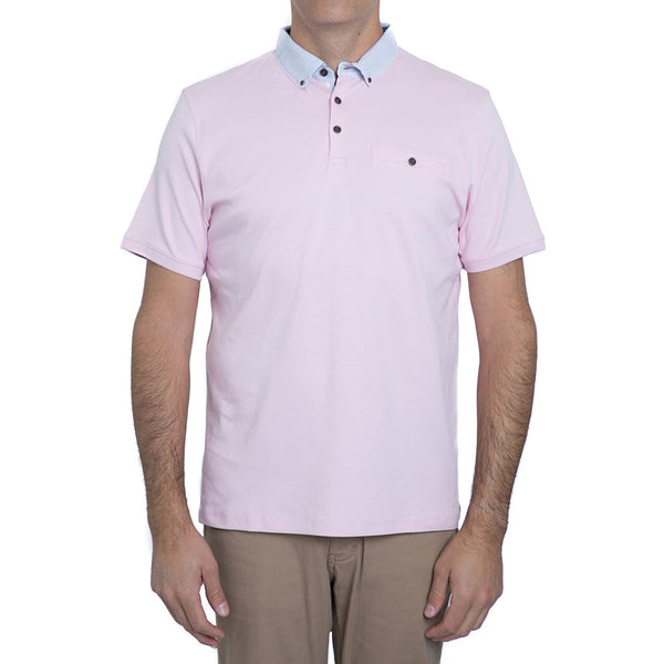 English Laundry Pink Polo Shirt