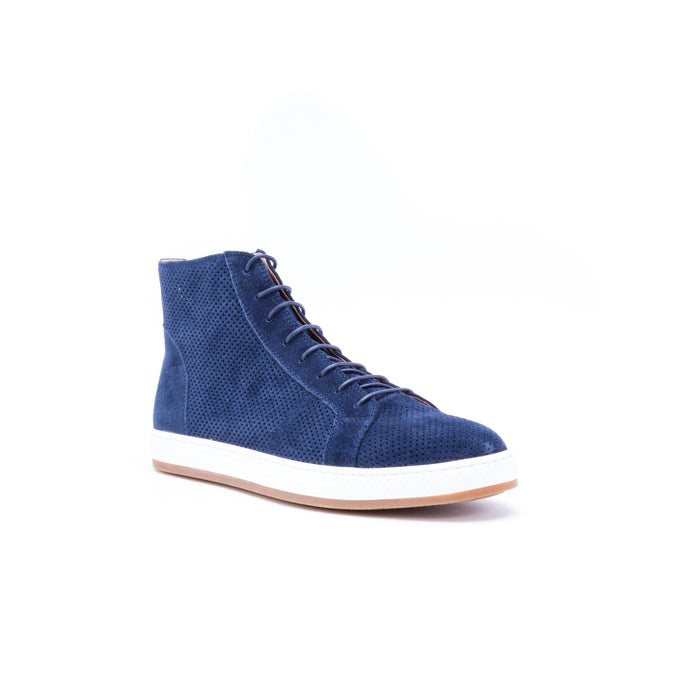 English Laundry Windsor Suede High Top Sneaker, Navy