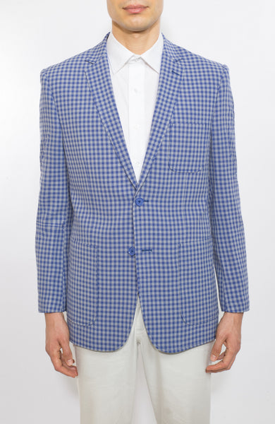 ENGLISH LAUNDRY BLUE SLIM FIT BLAZER