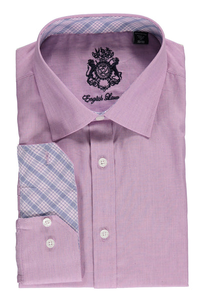 English Laundry Purple Oxford Dress Shirt