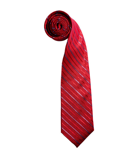 English Laundry Red Grid Tie