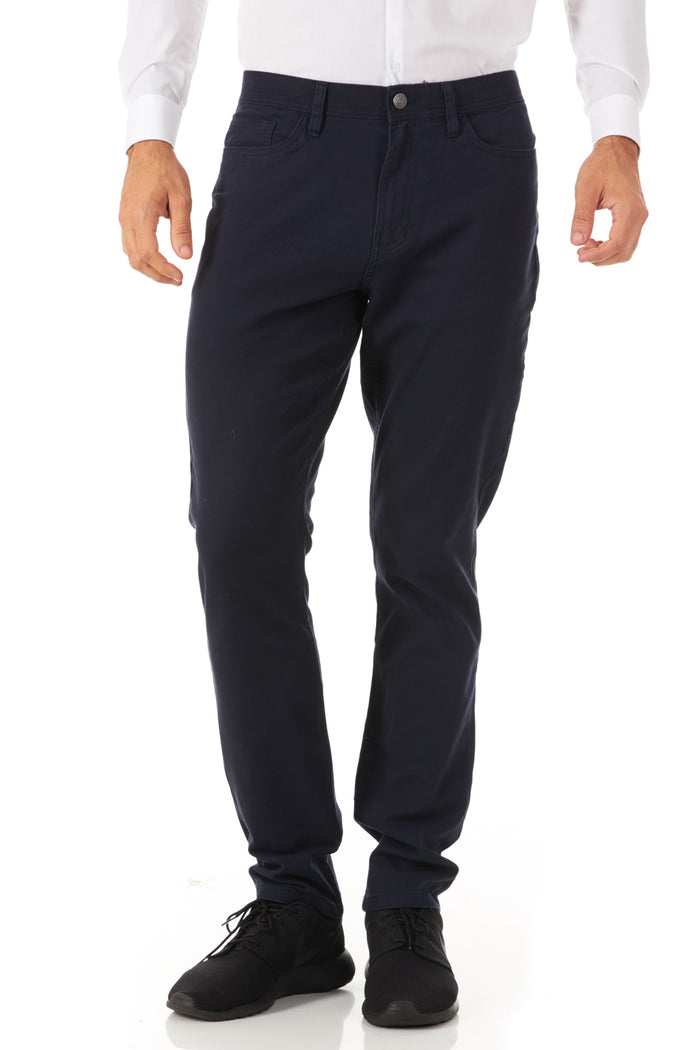 CARNABY NAVY BLUE SAPHIRE ENGLISH LAUNDRY SLIM FIT STRETCH 5 POCKET PANTS