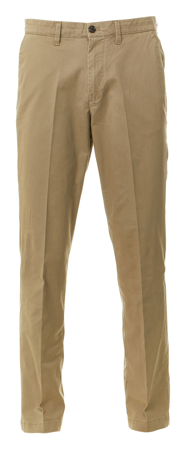 Paddington Cotton Chino 5 Pocket Pants Great Relaxed Fit  Tan