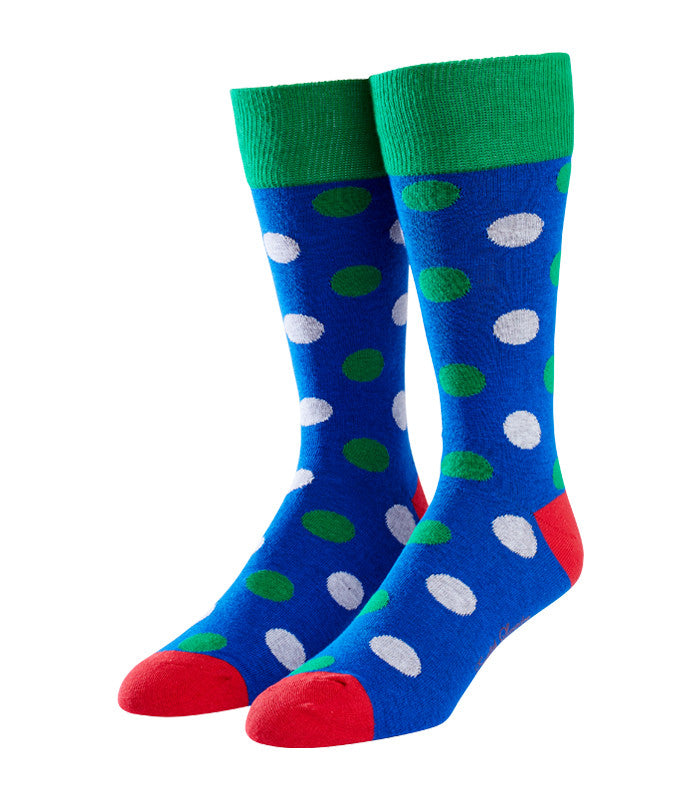 Large Polka Dot Socks