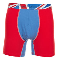 Red and Blue Cotton Stretch Boxer Brief 3 for $20