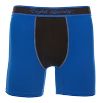 Blue and  Black Poly Stretch Boxer Brief 3 for $20