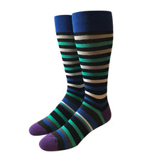 Mutli Color Striped Socks