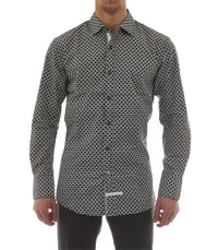 Dot Button Down Shirt