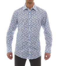 Paisley Button Down Shirt